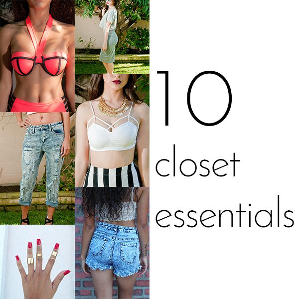 10 Closet Essentials