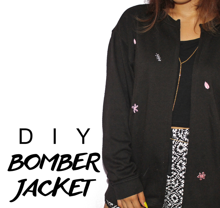DIY Bomber Jacket