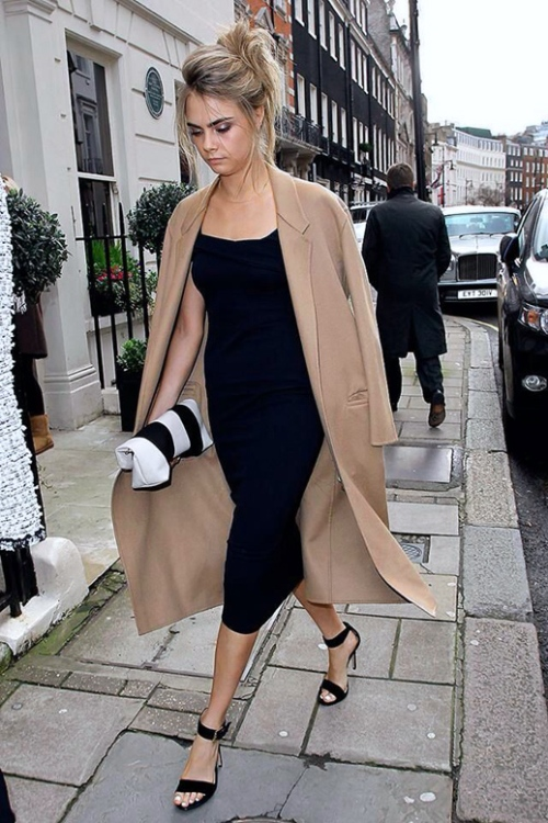 Le-Fashion-Blog-Wedding-Look-Cara-Delevingne-Camel-And-Black-Formal-Style-London-Street-2