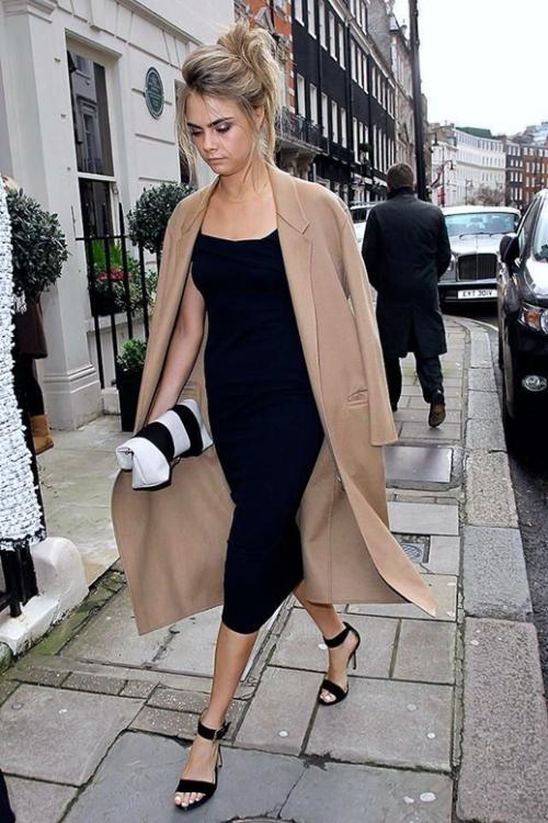 Le-Fashion-Blog-Wedding-Look-Cara-Delevingne-Camel-And-Black-Formal-Style-London-Street-2