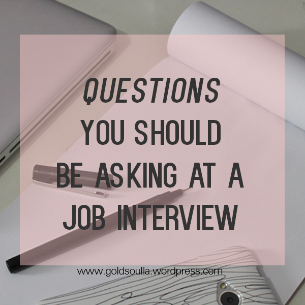 SMARTY PANTS: Questions you should be asking at a Job Interview