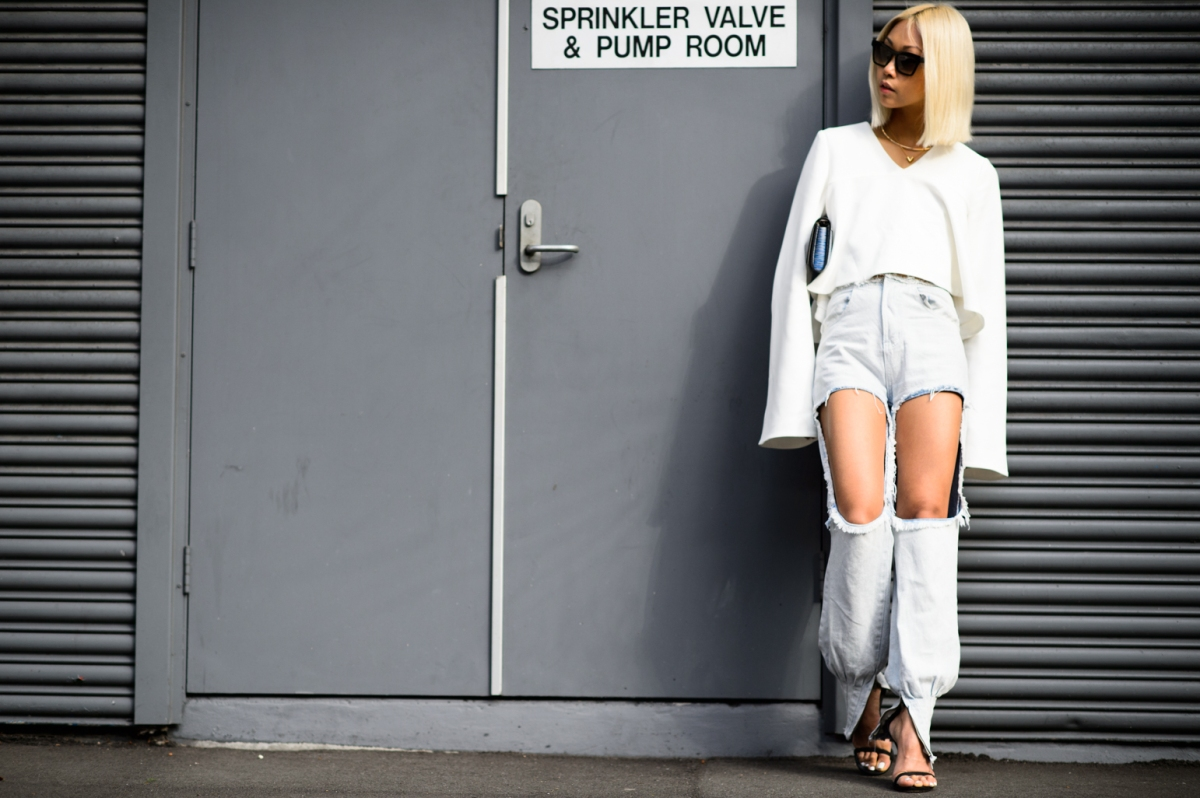 Inspiring Style Snaps from Australian Fashion Week 2015