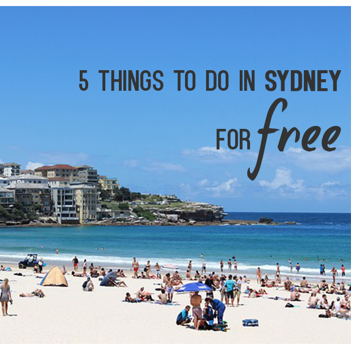 5 things to do in Sydney forFREE