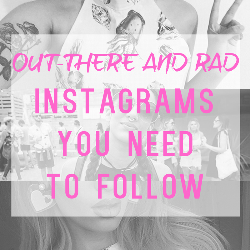 Fashion SO out-there but SO rad – Instagram's you need tofollow