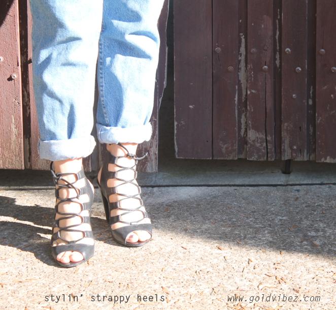 STYLIN' Strappy Heels