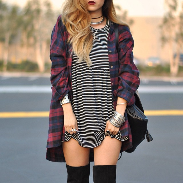 FASHION TALK FRIDAY: Stripes or plaid?