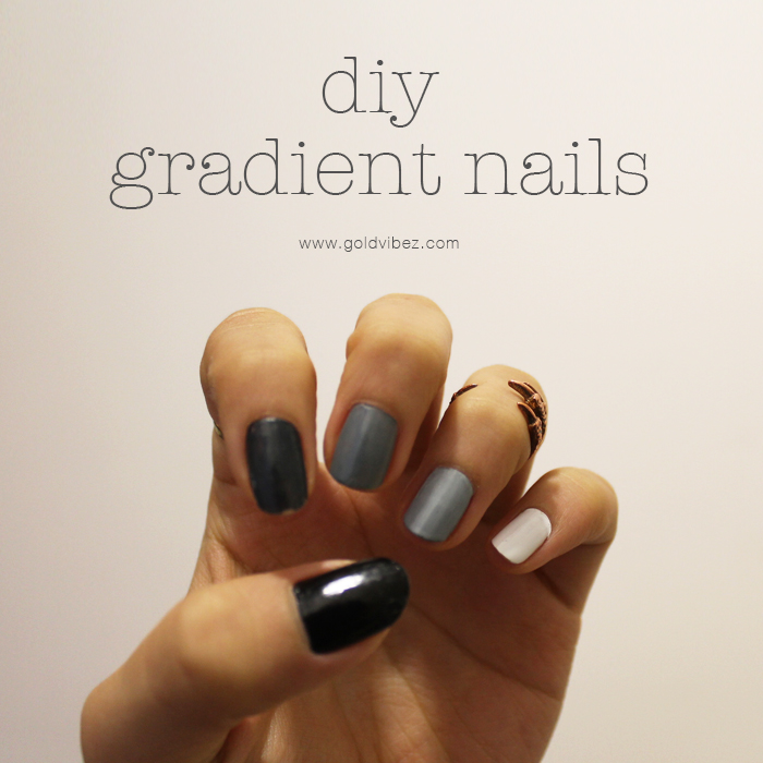 DIY GRADIENT NAILS