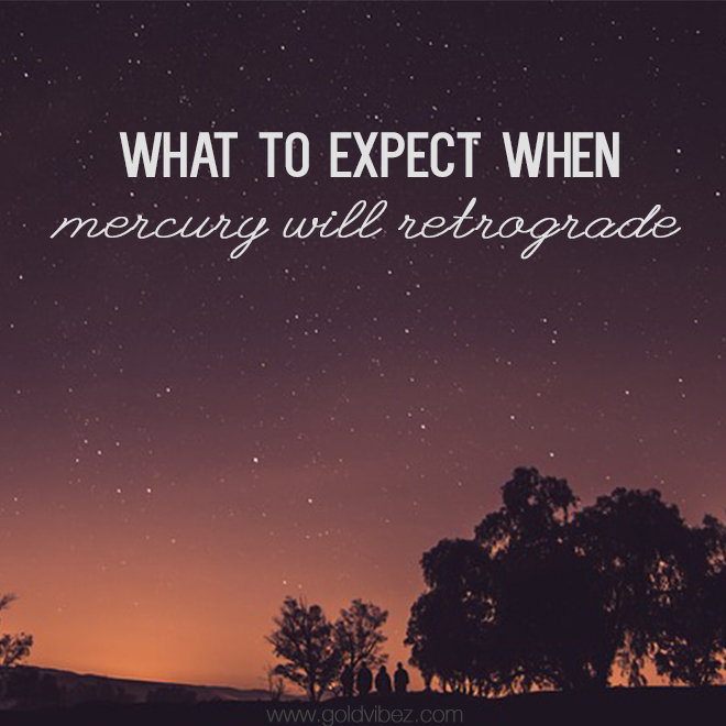 What to expect when Mercury will Retrograde
