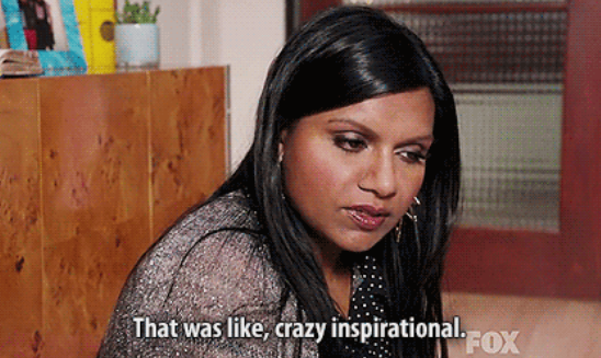 Mindy Kaling quotes to live by