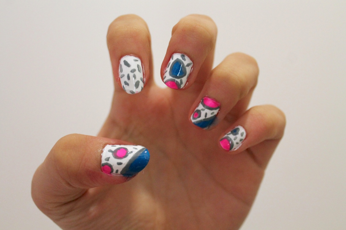 CLAWS OUT: Shapes and Sprinkles Nail Art
