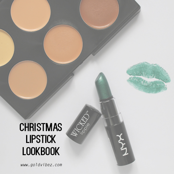 CHRISTMAS LIPSTICK LOOKBOOK