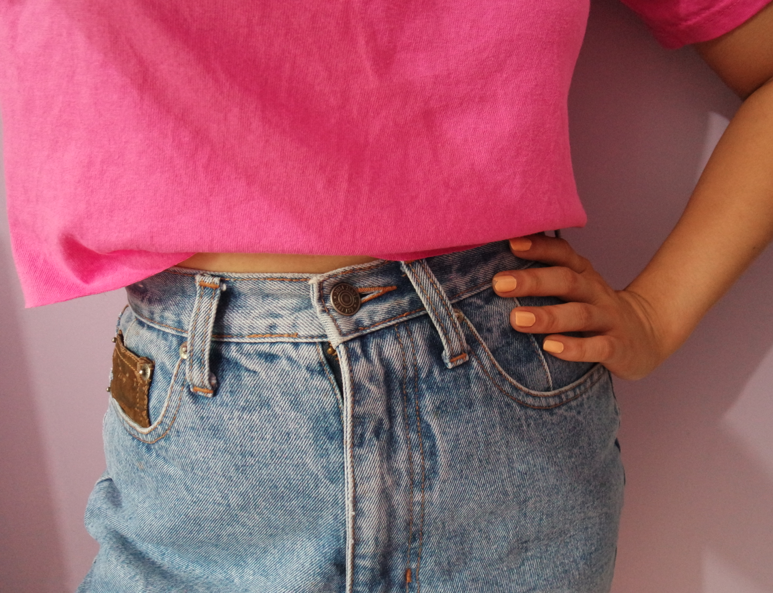 THE EASIEST DIY CROP TOP