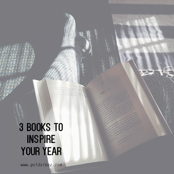 3 Books To Inspire Your Year!